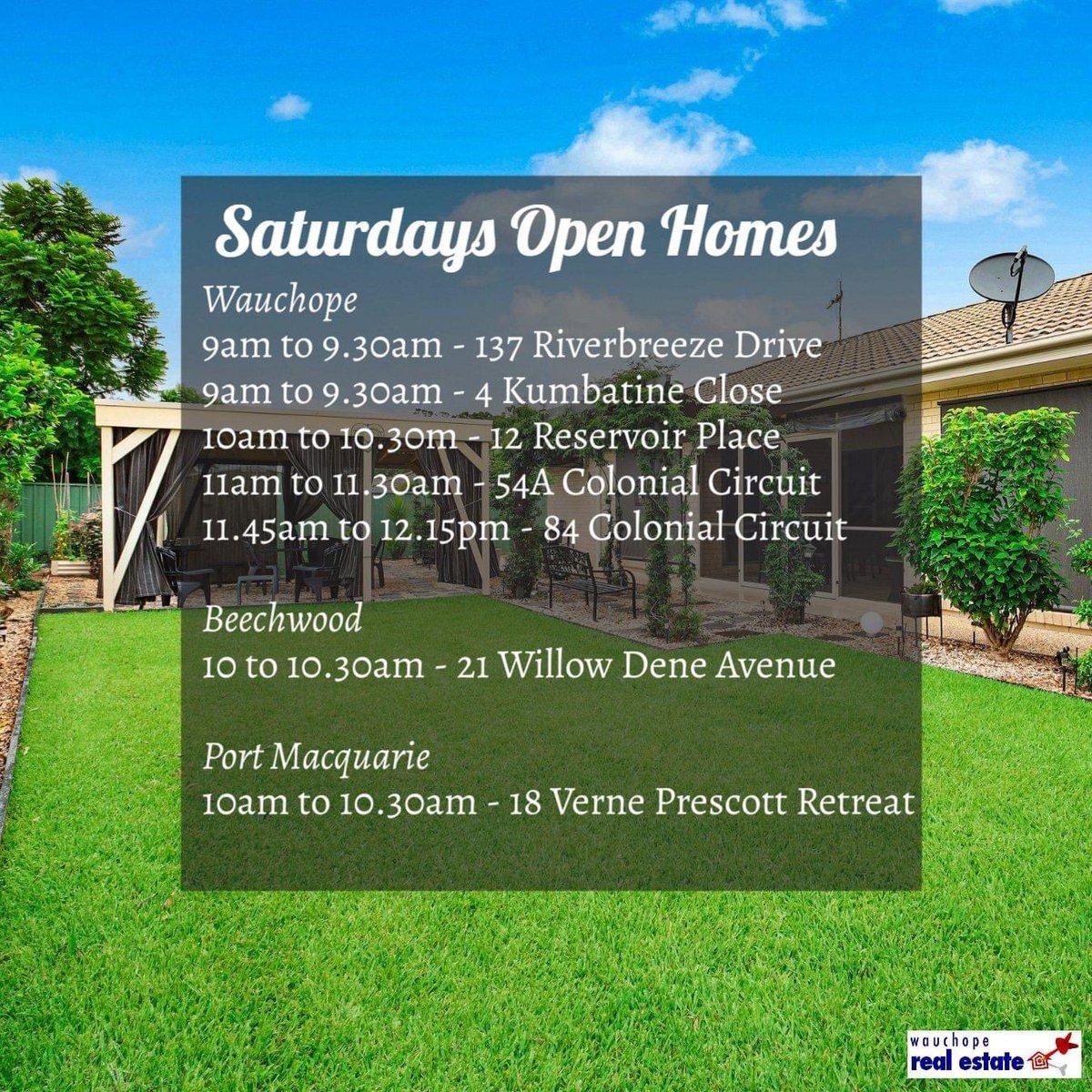 Saturday open homes 🏘    #openhomes #saturday #inspection #realestate #wauchope #portmacquarie #beechwood #forsale #wauchoperealestate #kirstieshawwre