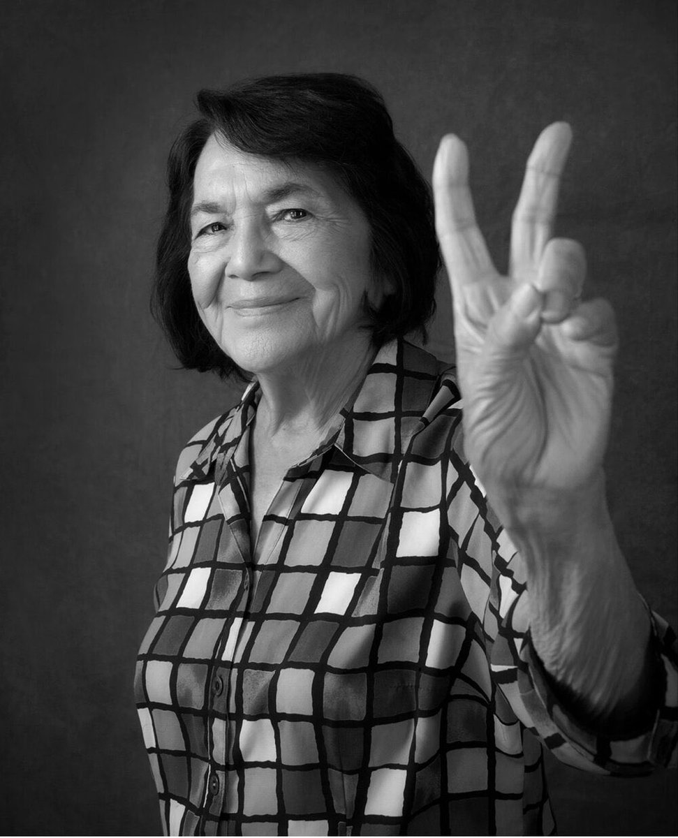 #WomensHistoryMonth - The world should know and learn from #DoloresHuerta. #HerStory: