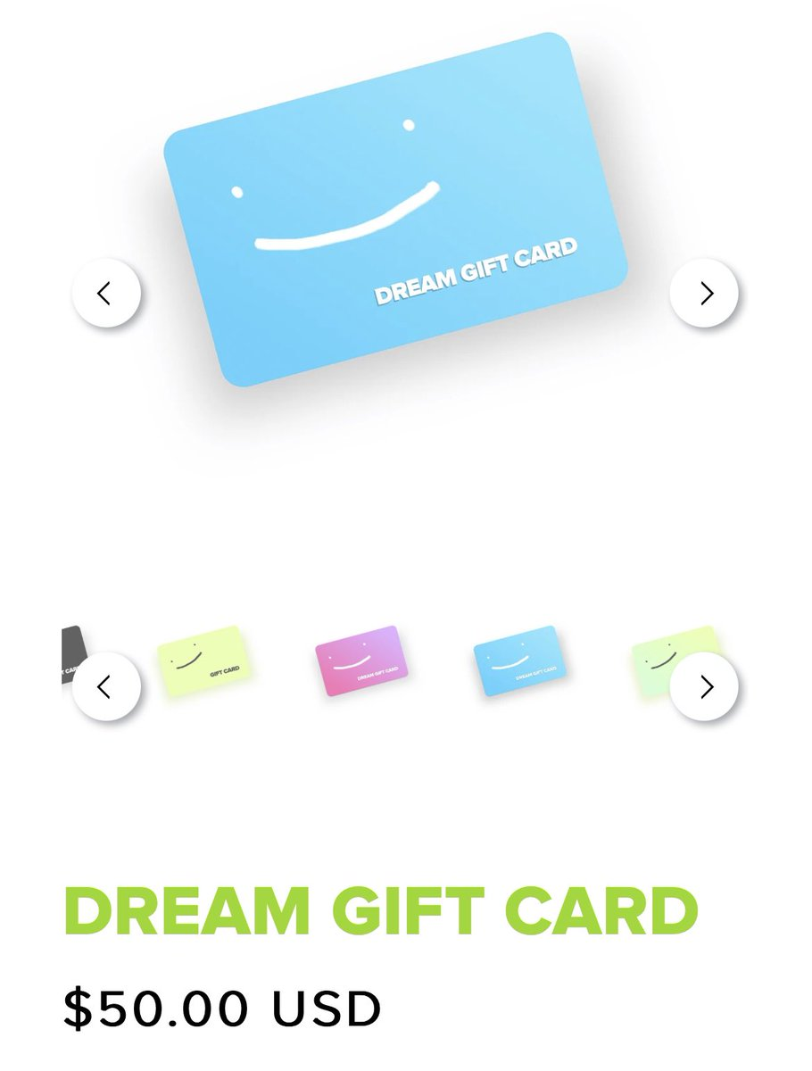 !! DREAM GIFTCARD GIVEAWAY!! (P2!!) i'm giving away one 50 dollar dream giftcard and one 25 dollar one!   TO ENTER: - Follow me! - rt and like!  GOOD LUCK!