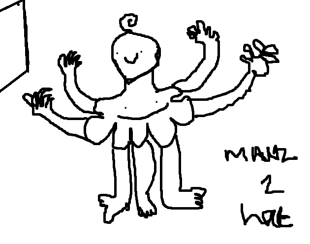 while im waiting for the new #talesfromthesmp ep i made this doodle on paint app XD