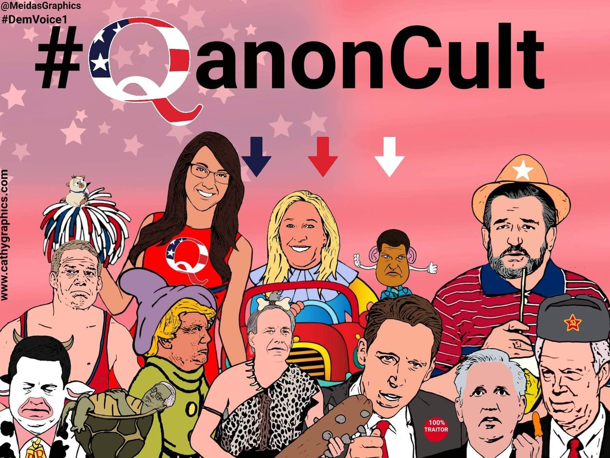 Replying to @MeidasGraphics2: @mmpadellan Congratulations #QAnonCult for this wonderful mess ! 💙🤣