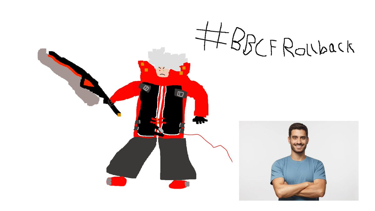 mission accomplished. ideal ragna with no references.  we were here.  #BBCFRollback