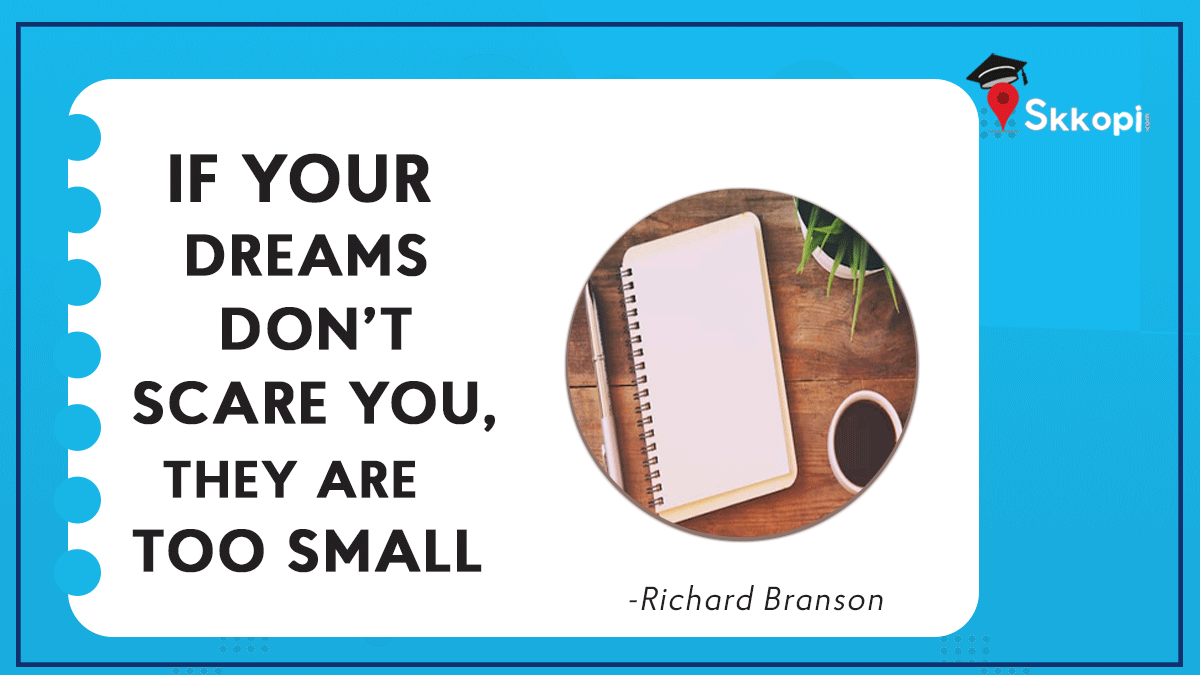 """Quote of the day! """"If your dreams don't scare you they are too small""""   #quotes #love #motivation #life #inspiration #quoteoftheday #instagram #motivationalquotes #instagood #quote #follow #bhfyp #like #happiness #positivevibes #success #believe #loveyourself #lifestyle #selflove"""