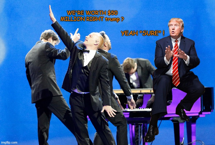"@CharlesASumpter Bet It's Those ""Piano Guys"" Again! 😄 😁 😆 😅 😂 🤣 #qanons - #qNUTS  #March4th  #March4thCoup  #TrumpInauguration  #InaugurationDay  #qanonCULT"