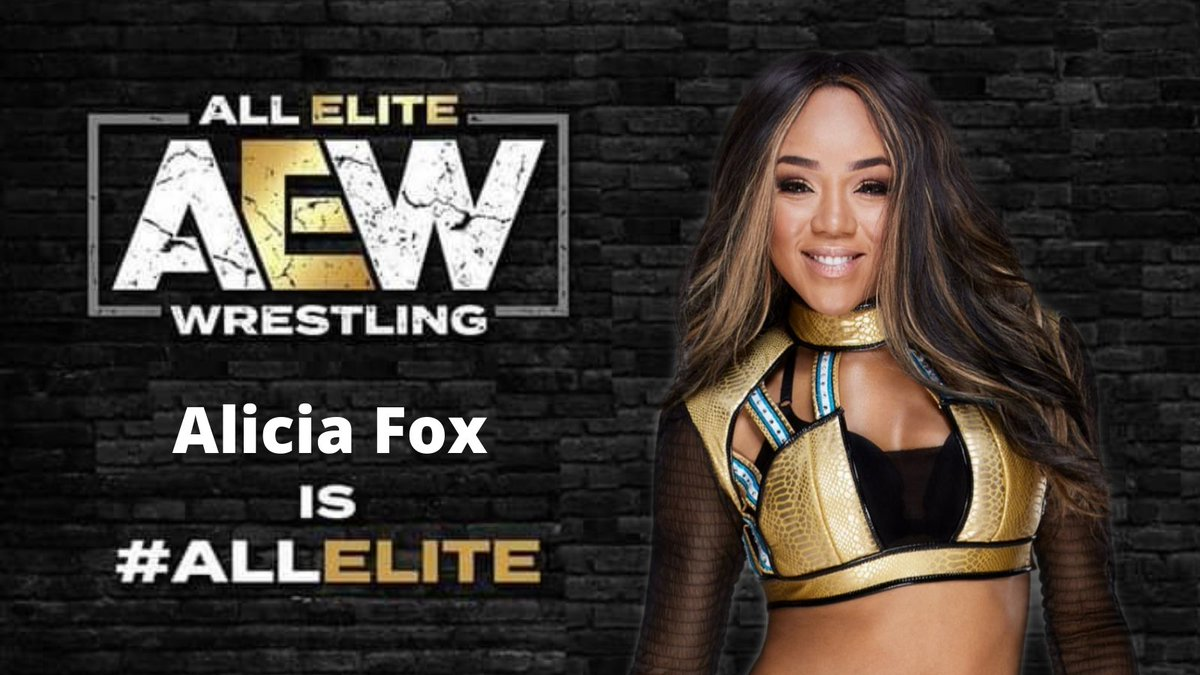 Report:  According To A Source In #AEW I Can Confirm That The Hall of Fame Worthy Talent Signing With AEW At #AEWRevolution Is None Other Than Alicia Fox.
