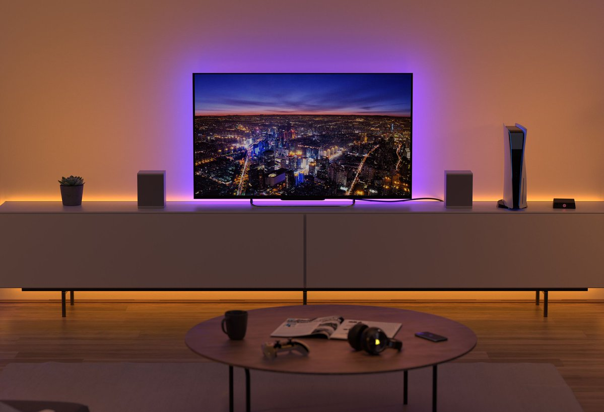 Replying to @verge: Elgato's new Light Strip can make your setup look more chill