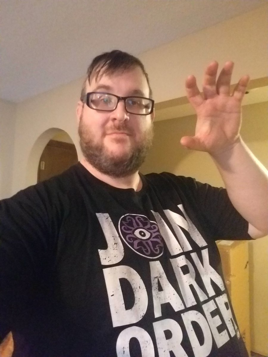 @SilverNumber1 @EvilUno @YTAlexReynolds Just purchased my 2nd ever wrestling t-shirt.  My first t-shirt was NWO, purchased in 1997. #JoinDarkOrder