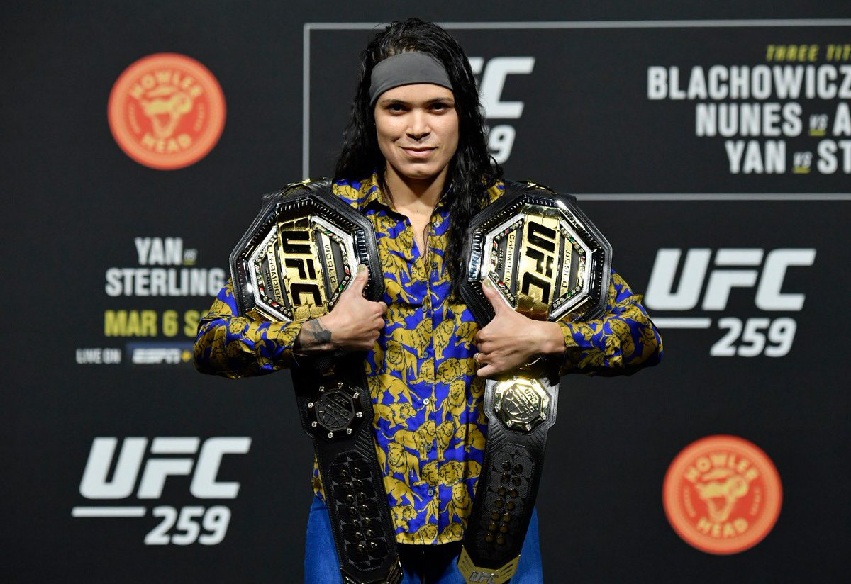 Replying to @Amanda_Leoa: #andstill #UFC259 #believe