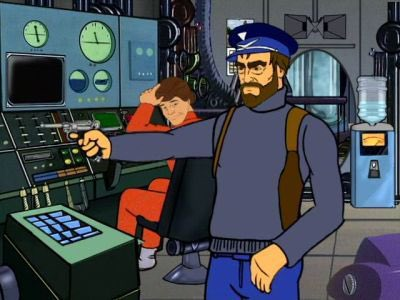 """So the paradox is, that it's much easier to imagine the end of all life on earth than a much more modest radical change in capitalism."" - Also Zizek. #thursdayAlienation #sealab #adultSwim #podcast"