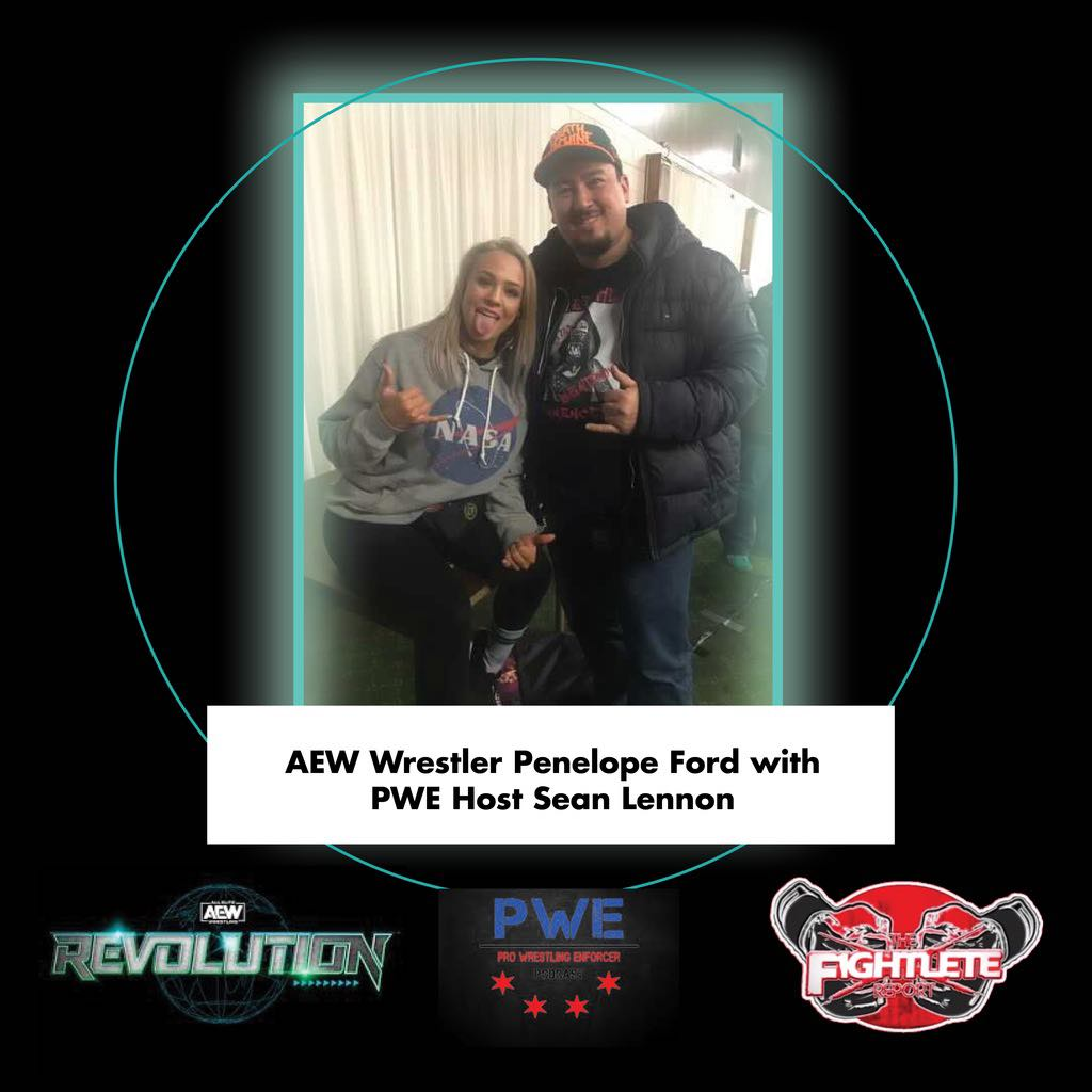 Check out our coverage of #AEWRevolution and the latest on @thePenelopeFord and more in #WomensWrestling at !  #PenelopeFord #AEW #prowrestling #ProWrestlingEnforcer #boxing #MMATwitter #Fightlete #MBJProductions