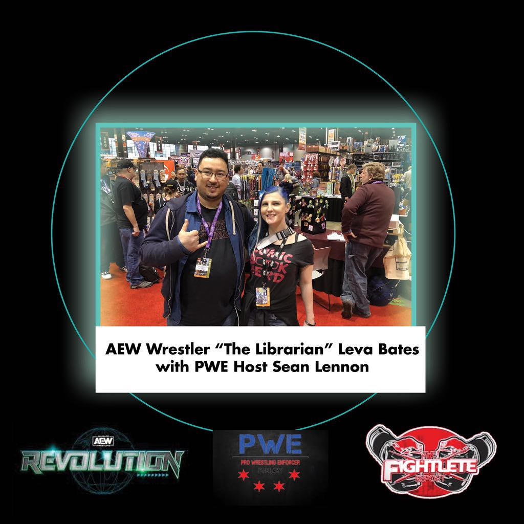 Check out our coverage of #AEWRevolution and the latest on @wrestlingleva and #WomensWrestling at !  #LevaBates #TheLibrarian #AEW #prowrestling #ProWrestlingEnforcer #boxing #MMATwitter #Fightlete #MBJProductions