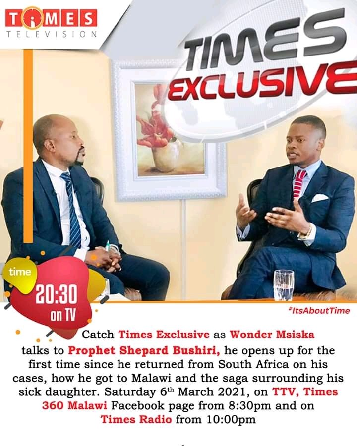 Time live Exclusive interview with Prophet Shepherd bushiri for the first time . No hearsay but facts from the prophet himself . Journalists have tried to find evidence and failed only the prophet himself will tell..broadcasting Live worldwide  #Bushiri #ECG  #facts #Saturday
