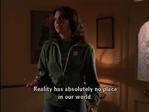 Accurate #gilmoregirls