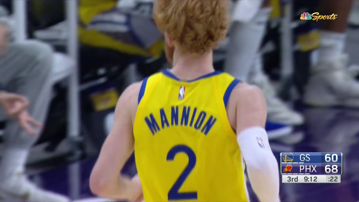 @NBCSWarriors's photo on Wiseman