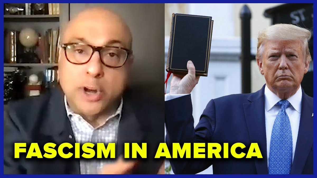"""""""I never thought I would be living in a place where democracy itself was threatened.""""  @AliVelshi explains how his role as a journalist has changed in the past few years on the new MeidasTouch Podcast out now:"""