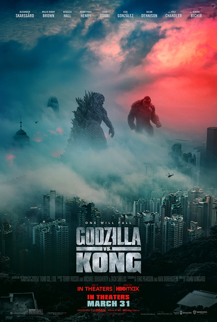 RT @scifijapan: New GODZILLA VS KONG Poster From Warner Bros.  https://t.co/ywp8NQAOPX https://t.co/HpyepBNmhx