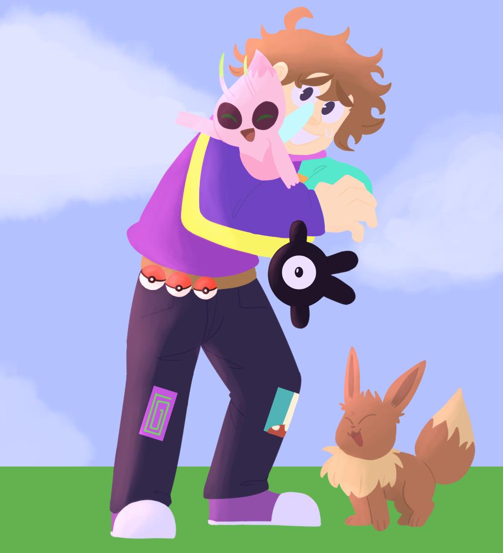 Trainer #karljacobs wants to battle! #karljacobsfanart #pokemon #honktwt