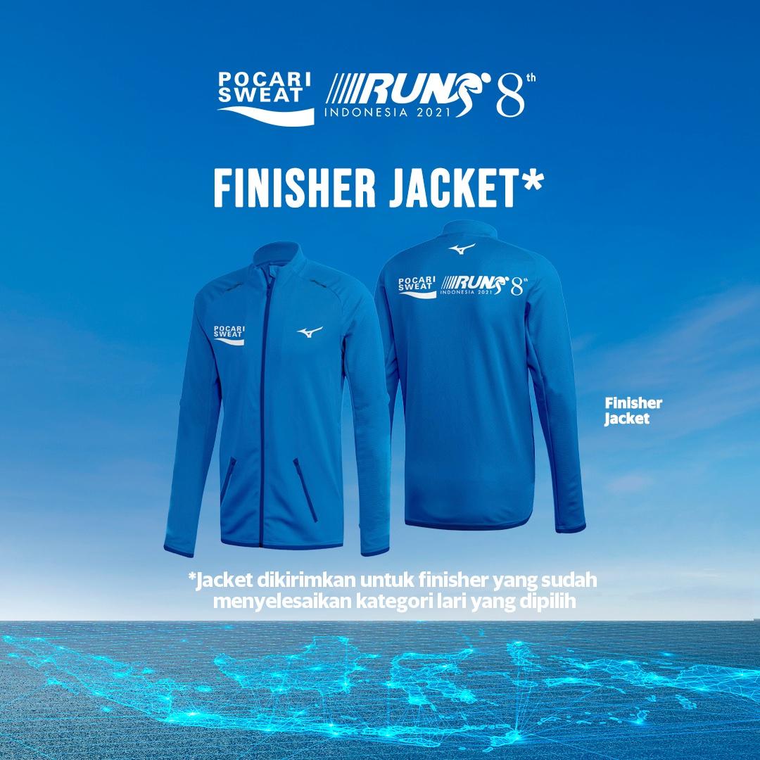 Jersey 👕 Pocari Sweat Run Indonesia • 2021