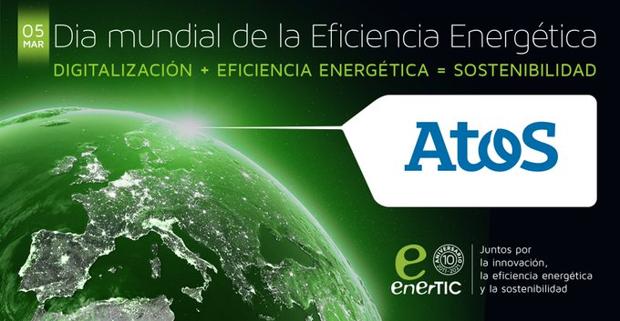En Atos celebramos el #DíaMundialdelaEficienciaEnergética, a la que contribuimos con nuestra #...