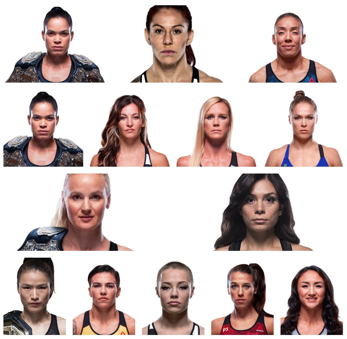 History of the #UFC Women's Championships
