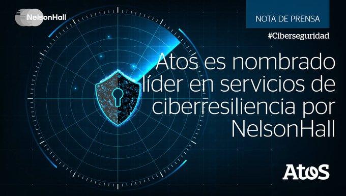 Atos se ha posicionado como líder en servicios de resistencia cibernética a nivel mundial...