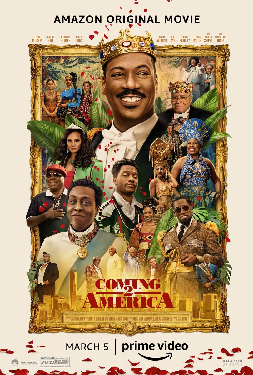 #Holdon #ComingToAmerica2 33 years later the first one is as old as Drake. Hollywood is going to shit #criticalRoleSpoilers #CurrentEvents