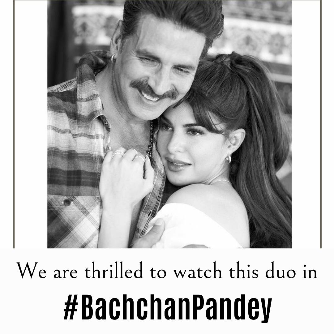 This jodi is going to be a super hit again🤩❤️ @Asli_Jacqueline @akshaykumar #jacquelinefernandez #akshaykumar #bachchanpandey