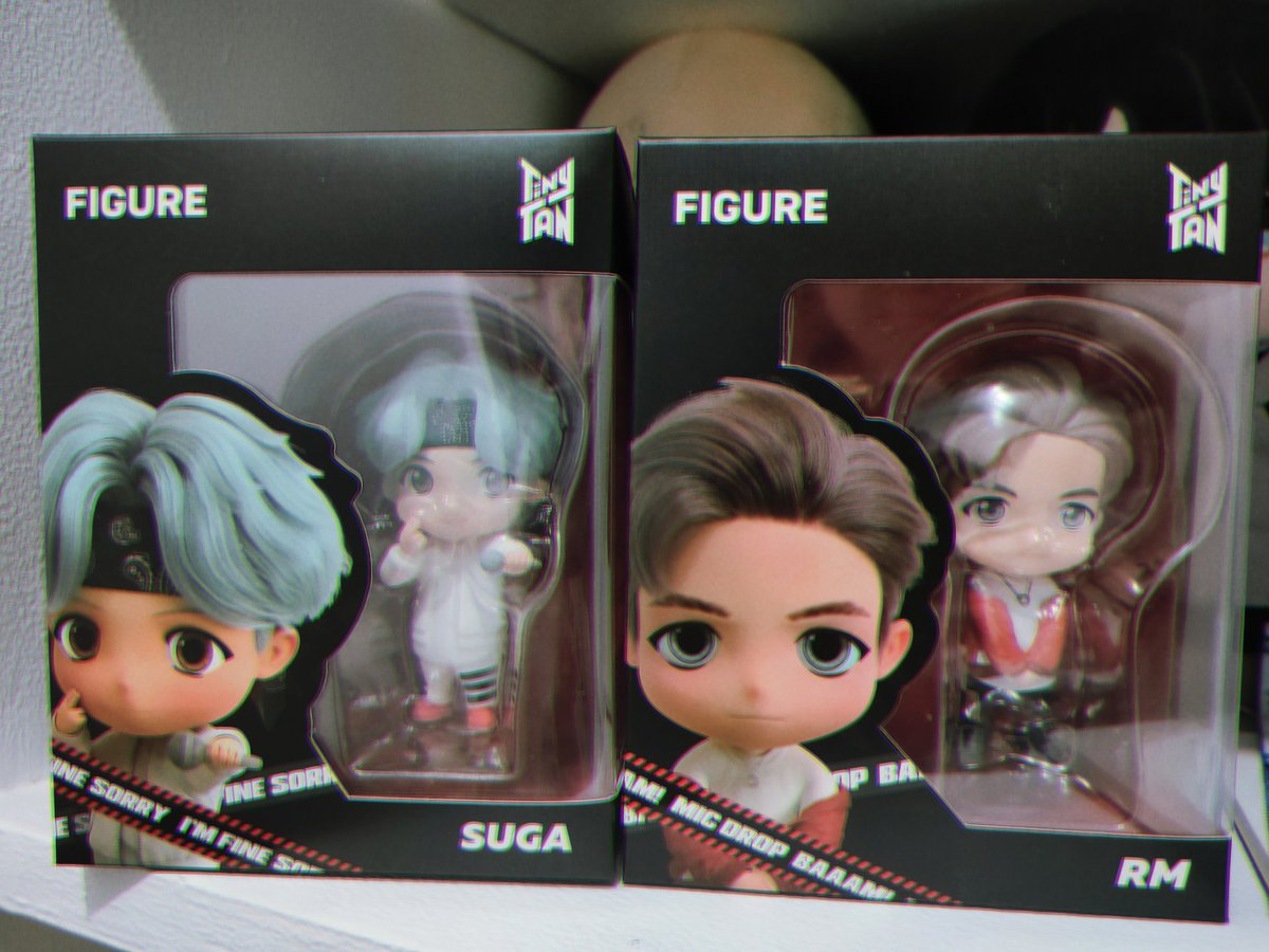 It's here, Micdrop version of #tinytan #suga and #rm 🎤🎤🎤 Thanks @purpleshopph super late post 😉😉😉