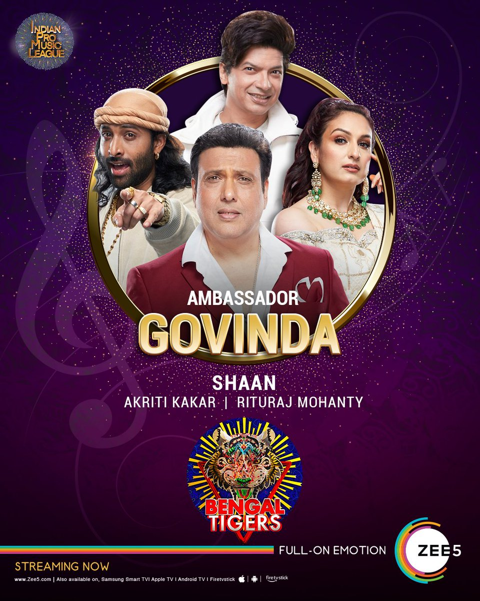 Get ready for the musical roars of the Bengal Tigers! ▶️   #IndianProMusicLeague | #IPML | #IPMLOnZEE5 | #IndianProMusicLeagueOnZEE5 | @ipmlofficial | @govindaahuja21 | @singer_shaan | @AKRITIMUSIC | @riturajmohanty