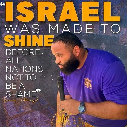 """#Israel was made to #Shine before all nations not to be a shame."" #PeculiarPeople #Royalty #IUIC #Leadership #Wisdom #Endurance #Adversity"