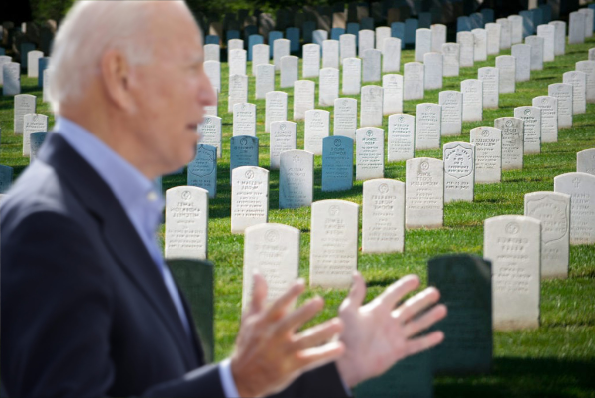 """Biden Thanks Democrat Voters For Election Win    """"I am so happy to see you are all social distancing today, six feet under.""""   #deadvotes #biden"""