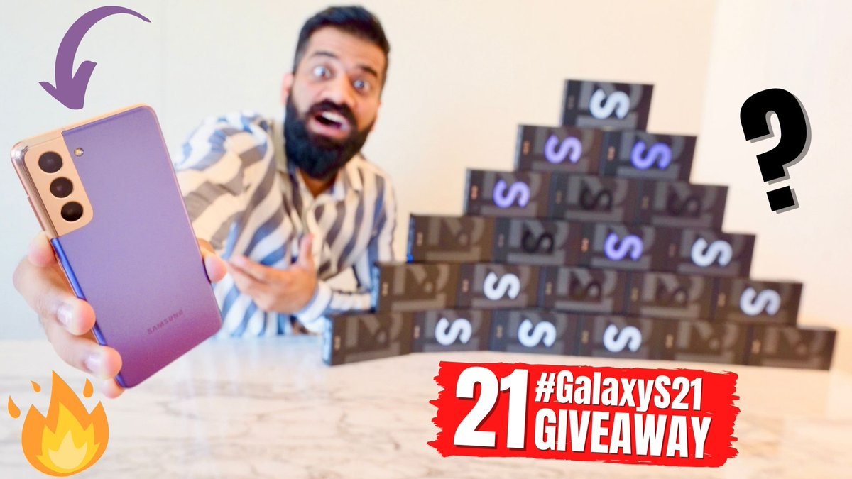 21 #GalaxyS21​ Smartphones For You - Epic Experience!!!🔥🔥🔥  via @YouTubeIndia @SamsungIndia