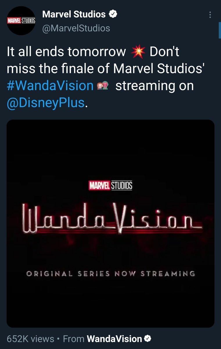 Dear @disneyplus Pls making More Episodes. I love this season.  #WandaVision #wandavisionbash #Wanda #DisneyPlus #WandaVisionFinale