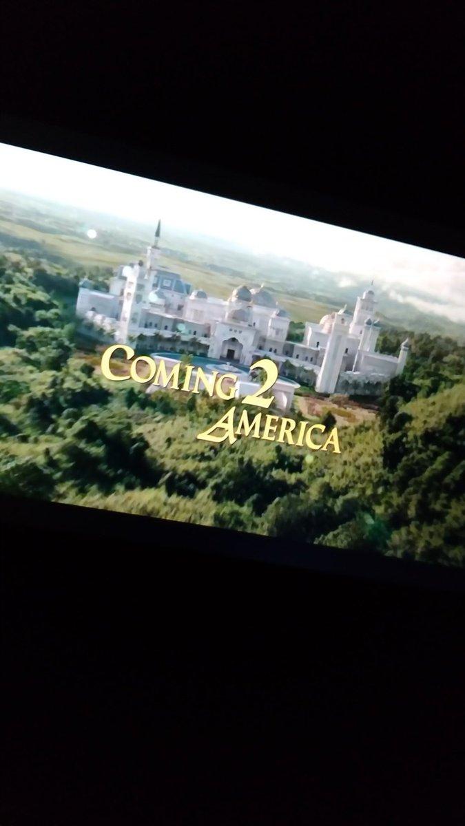 @Direct7E  Who's watchin on Amazon @PrimeVideo #Coming2America  #ComingToAmerica2 ? @PamGrier @barbs73 @tangerine282003 @sinbadbad  @Meri_mer  @singlet03_lisa  @LindseyPHorvath @HollyJMitchell @jcf108 @alexisohanian My friend Luenell Campbell aka  MyCrazyAuntie stars in film