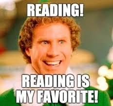 Reading! Reading is my Favorite!  #writingcommunity