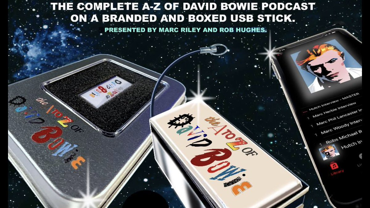 HEADS UP Y'ALL! Last 20 of our Bowie USB TARDIS up for grabs via the shop! Then that's it! Fill yer boots here 👇🏽  https://t.co/rNvU1sxZuB Over 40 hours of material including 71 episodes of our A to Z of David Bowie! 💥 ⁦@robhughesRH⁩ ⁦@howsaudio⁩ ⁦@jasemonkey⁩ https://t.co/s6KVTi7AcF