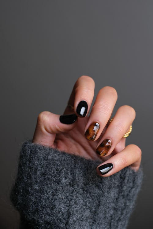 Life is not perfect, but your nails can be. #fashion #makeUp #nails #lifeperfect #beauty