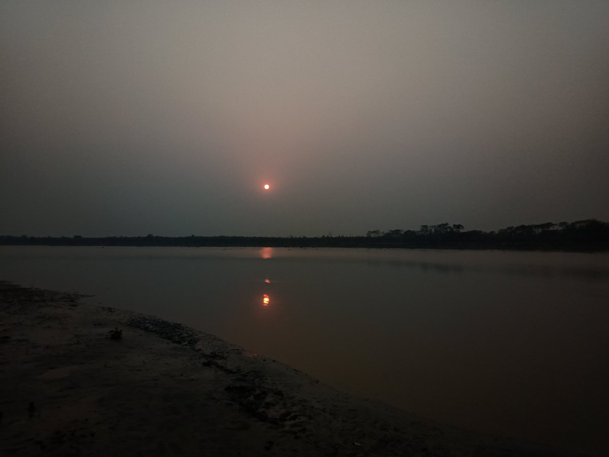 #আজ_গিয়ে_দেখি  #sunset #nature #photography