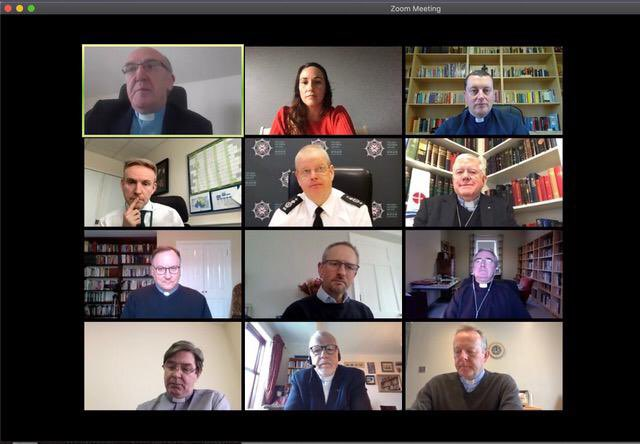 Very constructive and positive meeting with the leadership of @irishchurches this morning. Discussing policing during the pandemic, recruitment and legacy issues. I look forward to ongoing engagement and partnership. https://t.co/YfLxPpKd5Y