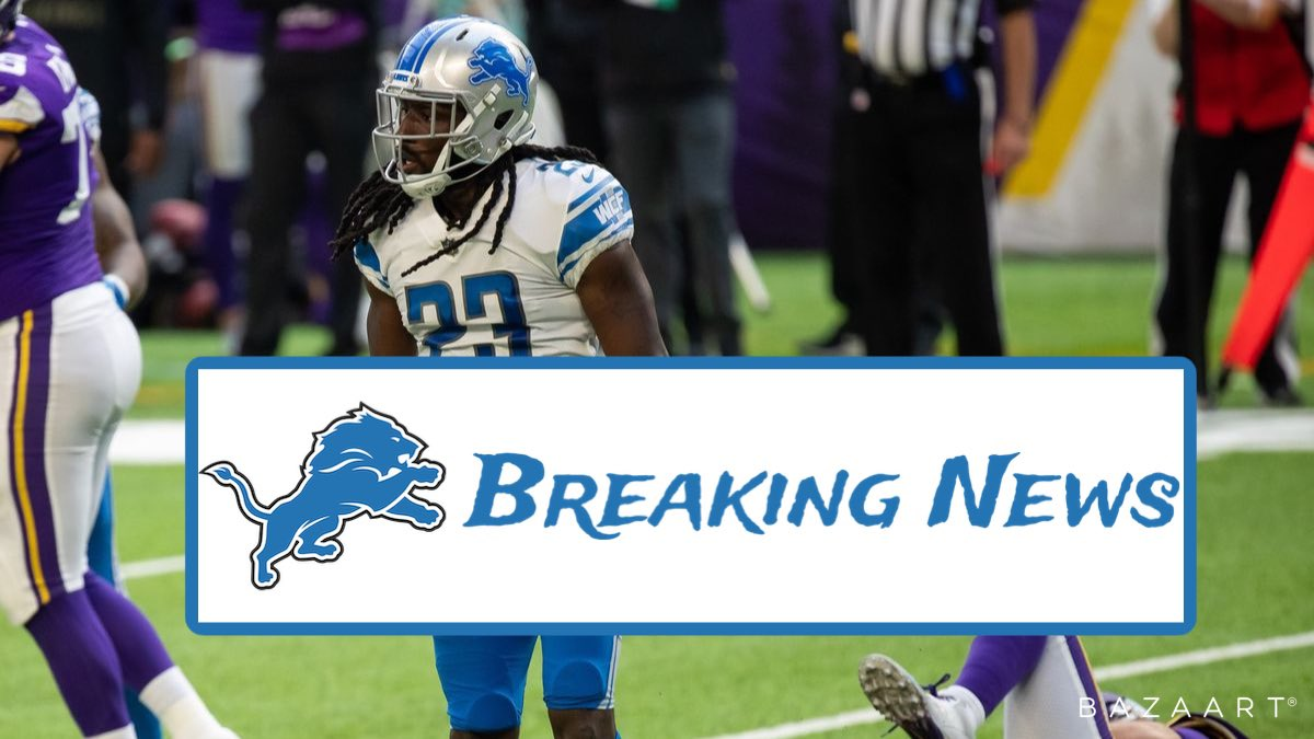The Detroit Lions are releasing CB Desmond Trufant before the start of the new year which will save them $6.187 million dollars in cap space. Trufant last year played in 6 games and has 16 solo tackles, 4 assisted tackles, 1 sack and 1 interception. Thoughts where will he go?#NFL