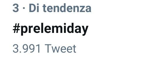 #prelemiday