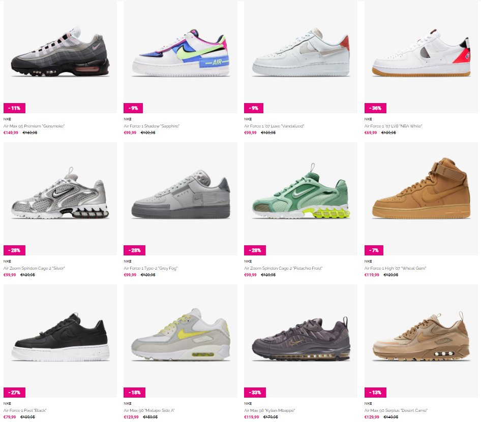 Ad: Save an Extra 15% on all sale items via Sneakerbaas - use code