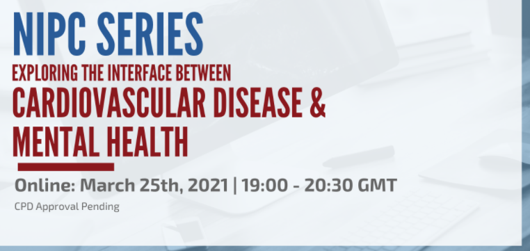 test Twitter Media - Registration is open for the next @NIPCIRELAND Cardiology Series webinar on the interface between #MentalHealth and #Cardiovasculardisease. Great line-up of speakers! More info here: https://t.co/5iFIy93U0H https://t.co/YdY0Wx62S4