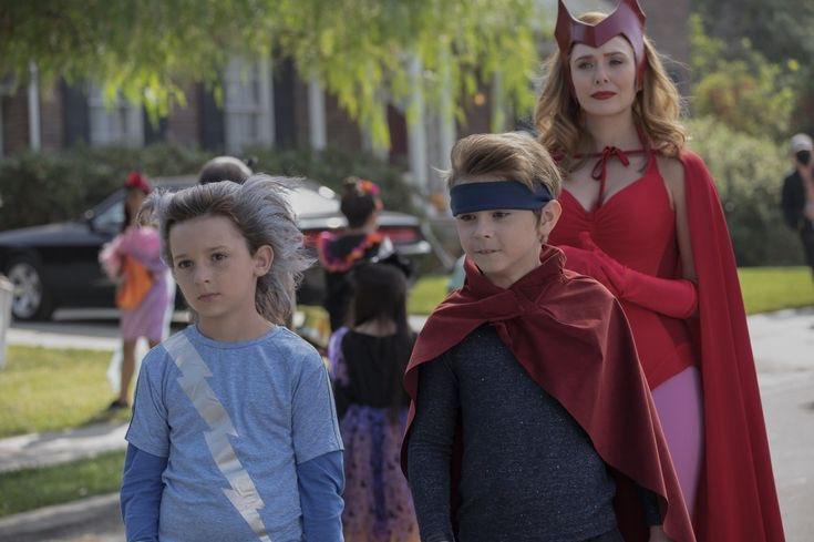 """Wanda: """"Meninos, obrigado por me escolherem para ser sua mãe""""  #WandaVisionFinale"""