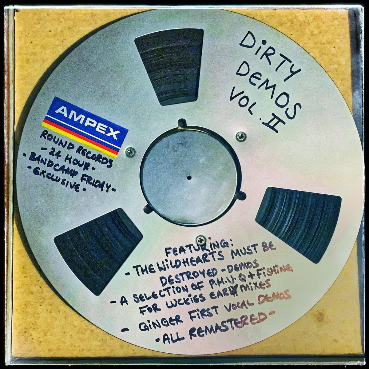 Bandcamp Friday offerings. Dirty Demos vol 2 and 'The First Three' available over on