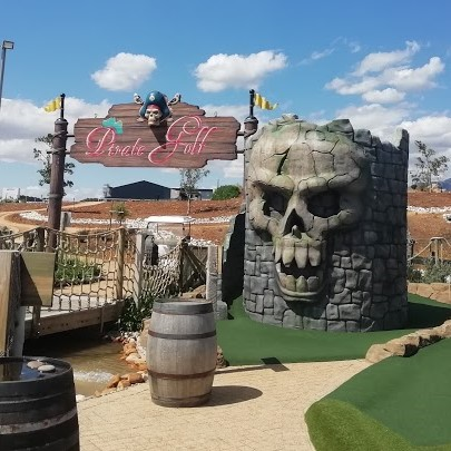 Entertain the whole family with a fun round of Pirate Adventure Golf and let the kids cool off after at Benguela Splash Park.  Open every Friday, Saturday and Sunday 10am - 6pm  View rates:   Tel: 087 357 0637 | Email: golf@benguelacove.co.za  #family #fun