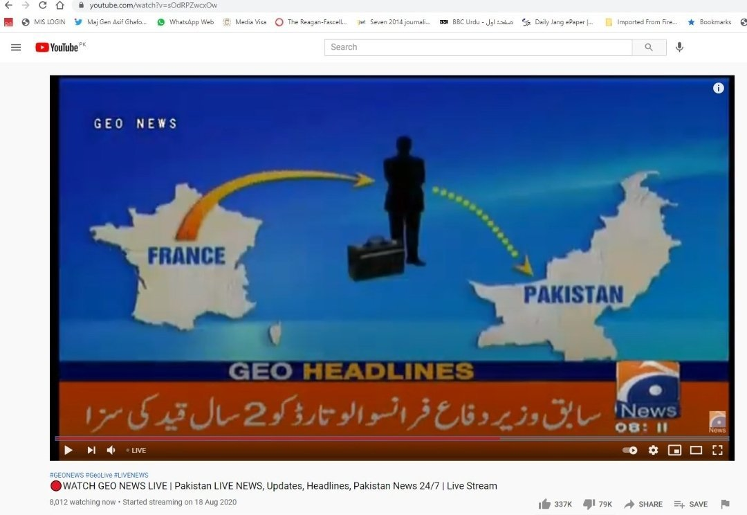 Pakistan's Top Channel 'Geo TV ' removes Kashmir and Gilgit Baltistan from #Pakistan's Map. Finally after so many years Pakistan is on its knees accepting the fact that POK & GB are Indian territories forcefully occupied by them.