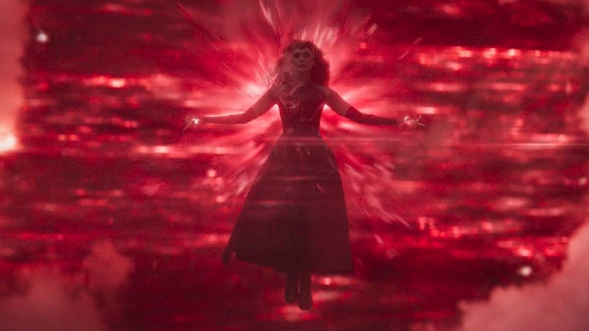 Replying to @im_mamam: #WandaVision #WandaVisionFinale  Ladies and gentleman, please welcome SCARLET WITCH