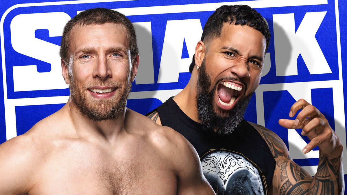 .@WWEDanielBryan has bested Jey @WWEUsos in their last two encounters, but who will be left standing when the two Superstars meet inside the Steel Cage?  Tune in to #Smackdown tomorrow to catch the high-stakes Steel Cage showdown!