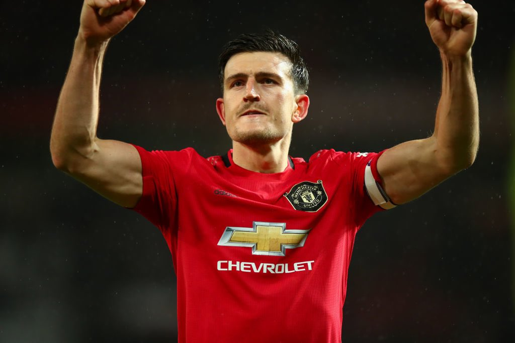 Harry Maguire 😊🏴🎊 #MUFC